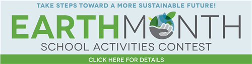 Earth Month Banner