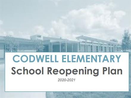 Watch Principal Love explains how we're safely returning to Codwell