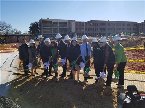 HISD Austin High School had their Groundbreaking Ceremony on Tuesday, December 4, 2019.