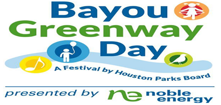 On Saturday, April 6, 2019, Houston Parks Board will host the fifth annual Bayou Greenway Day along