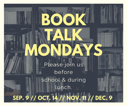 Book Talk Mondays