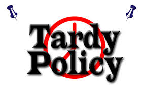 Tardy Policy in Place