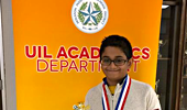Congrats to Rishab Subramanya 2nd Place District Spelling Bee