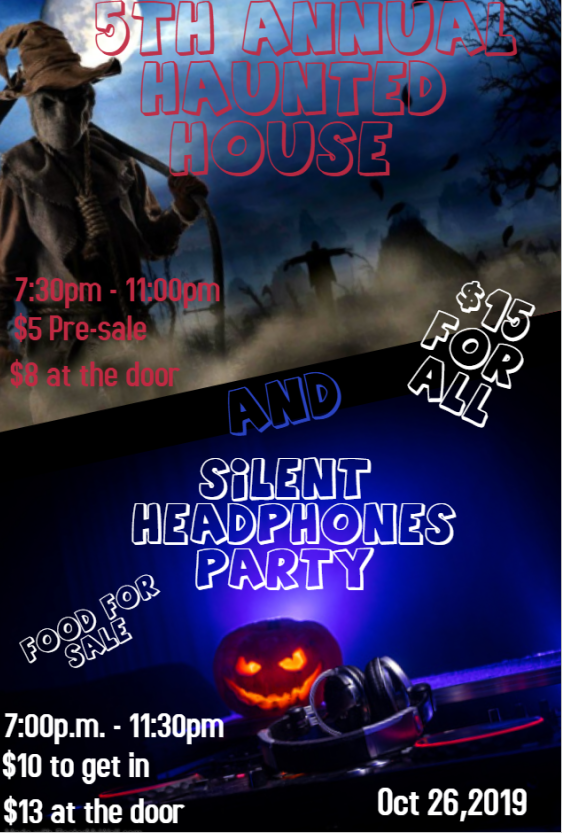 Westbury 5th Annual Haunted House and Silent Headphones Party