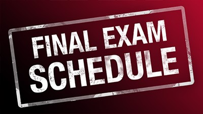 Fall Final Exams and Bell Schedule
