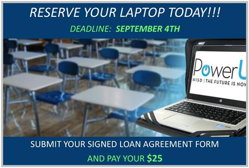 RESERVE YOUR LAPTOP TODAY!!!