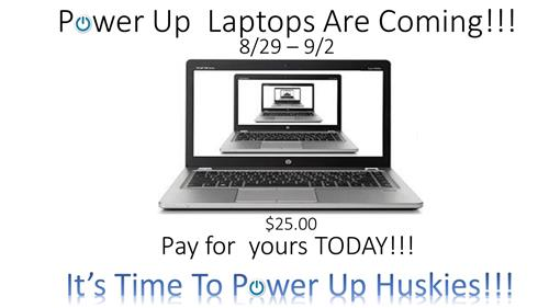 It's Time To Power Up Huskies!!!
