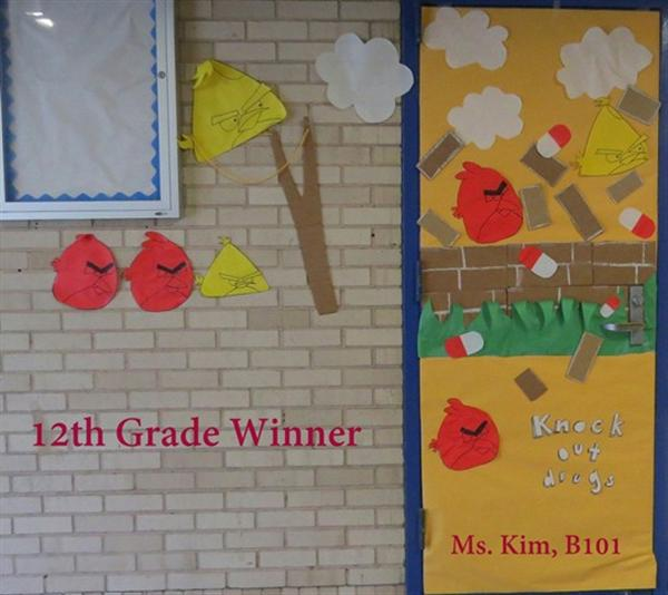 Photo Galleries 2014 15 Red Ribbon Week Door Decoration