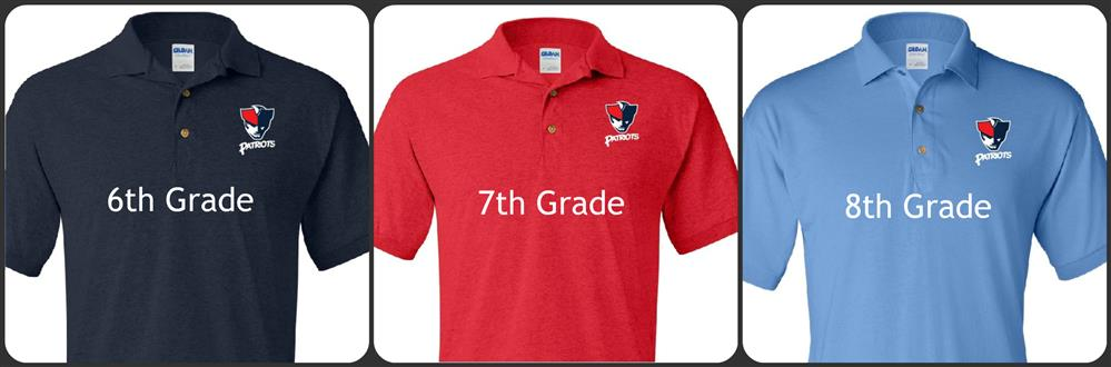 ... Welcome to Patrick Henry Middle School  Grade Level Shirts d59cdb5ff
