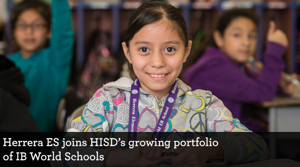 Increase in IB World Schools in HISD means more 'global' graduates on the horizon