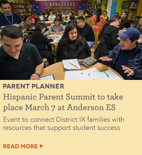 Hispanic Parent Summit to take place March 7 at Anderson ES