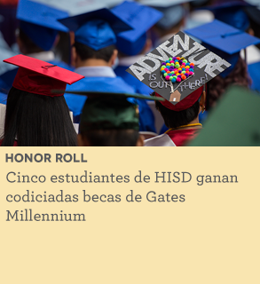 Five HISD students win coveted Gates Millennium Scholarship