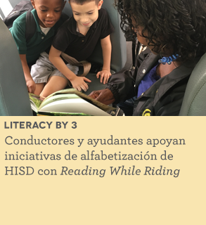 Bus drivers support literacy efforts with Reading While Riding program
