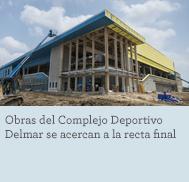 Delmar Fieldhouse construction nearing finish line