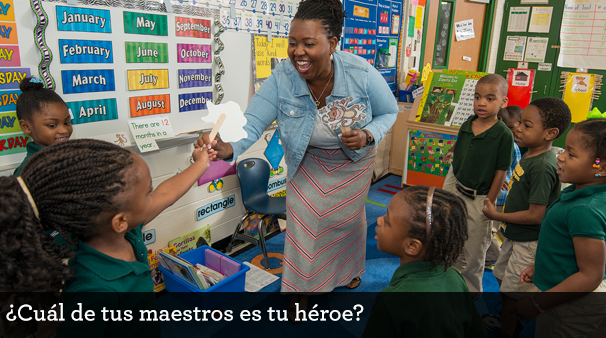 Who is your teacher hero? Thanking teachers for Teacher Appreciation Week