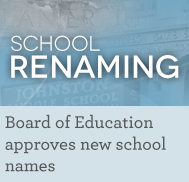 Board of Education approves new school names