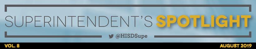 Superintendent's Spotlight
